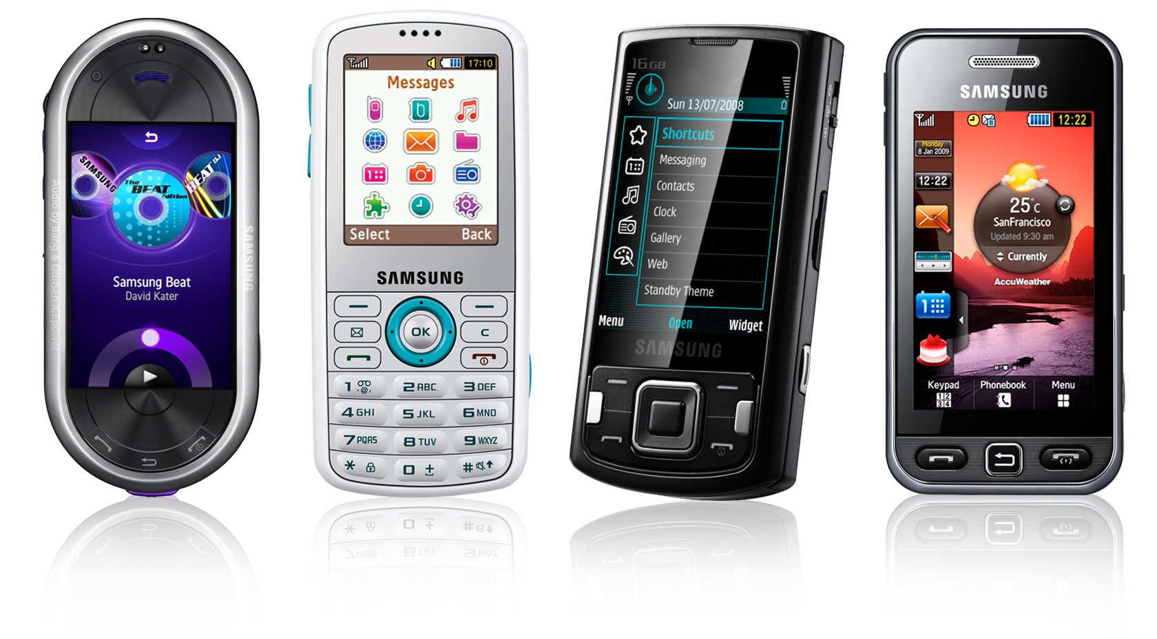 foto de celulares antigos