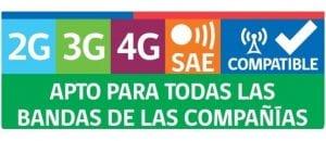 norma SAE - sello ley multibanda - registra tu imei